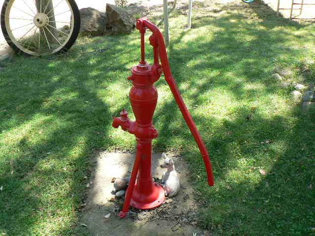 Antique Water Pump Hensleys Estate